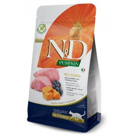 N&D Cat lamb&blueberry&pump Neutred adult 300 gr